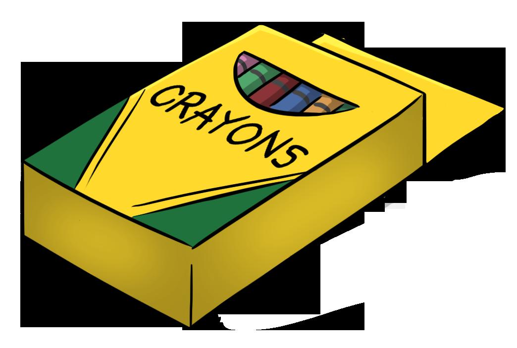 1044x703 Free Crayon Box Clipart Image