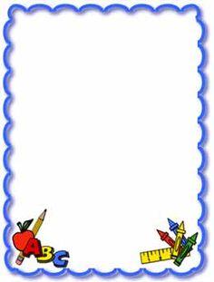 236x311 School Borders Clipart