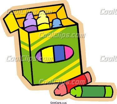 375x332 Crayon Clipart Childern