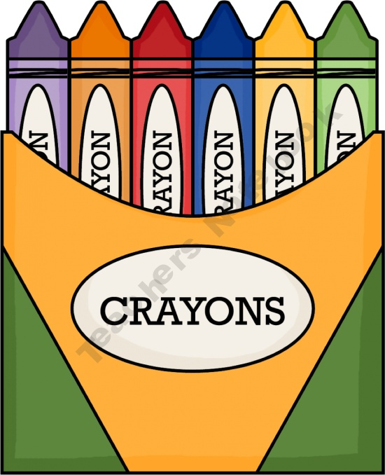 550x678 Crayon Box Clipart Cliparts