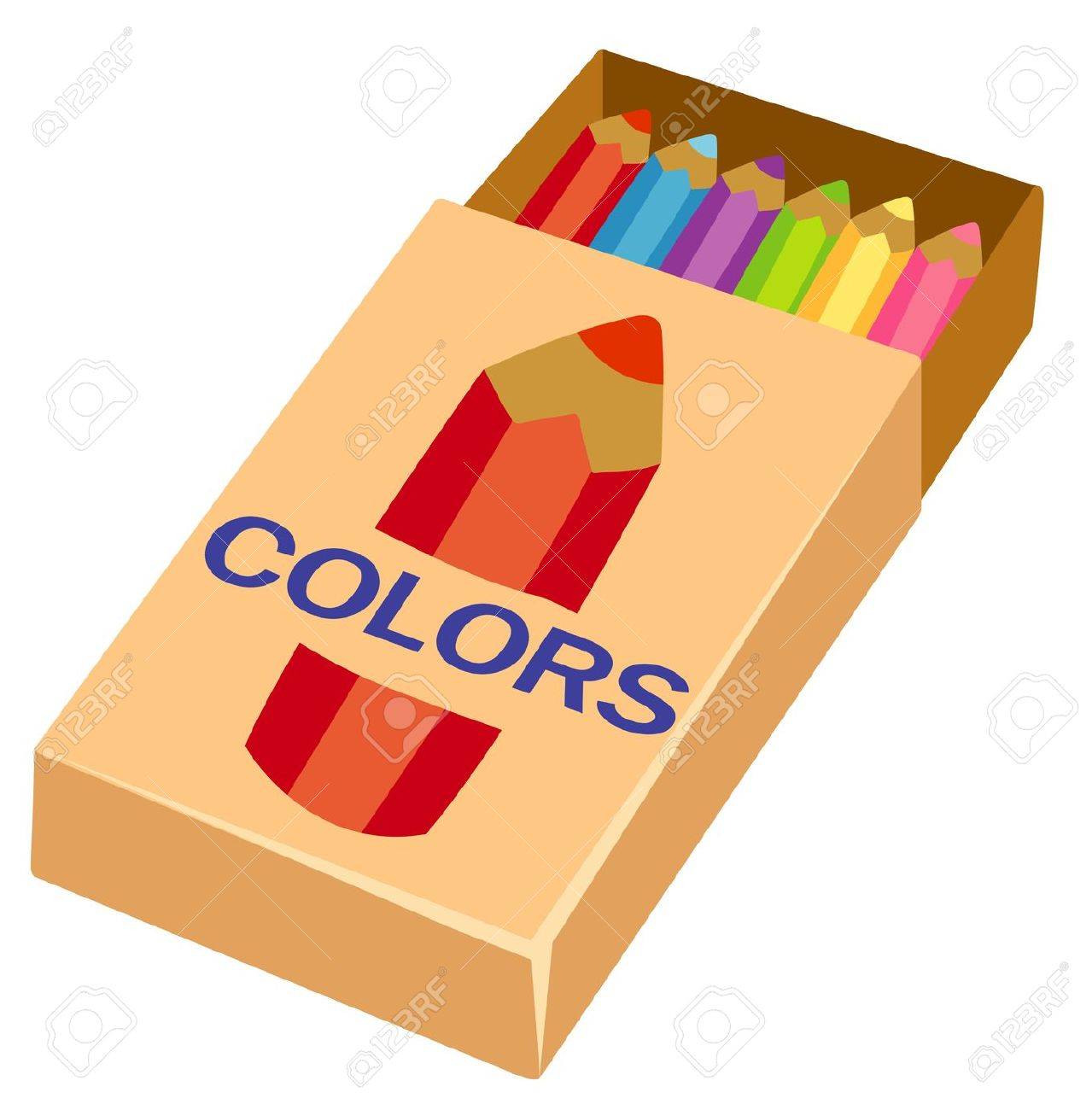 1279x1300 Box Clipart Colour Pencil