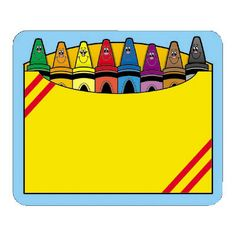 236x236 Cheerful Crayons Clipart Freebie Follow For Free Too