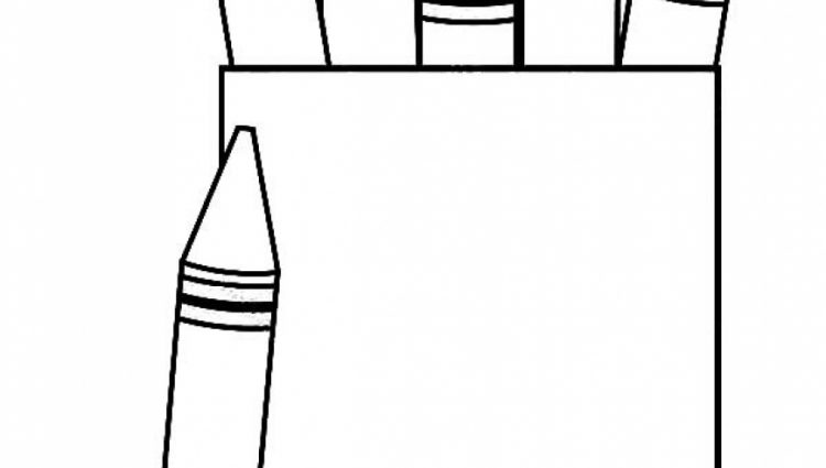 750x425 Crayon Box Coloring Pages Free To Print