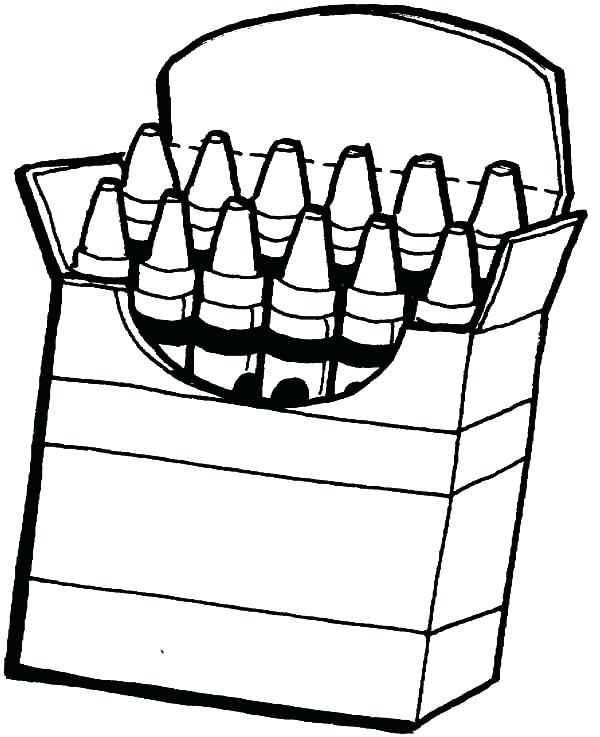 600x737 Crayon Coloring Pages Blue Coloring Pages How To Color Blue