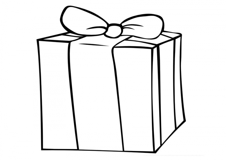 750x531 Box Coloring Pages