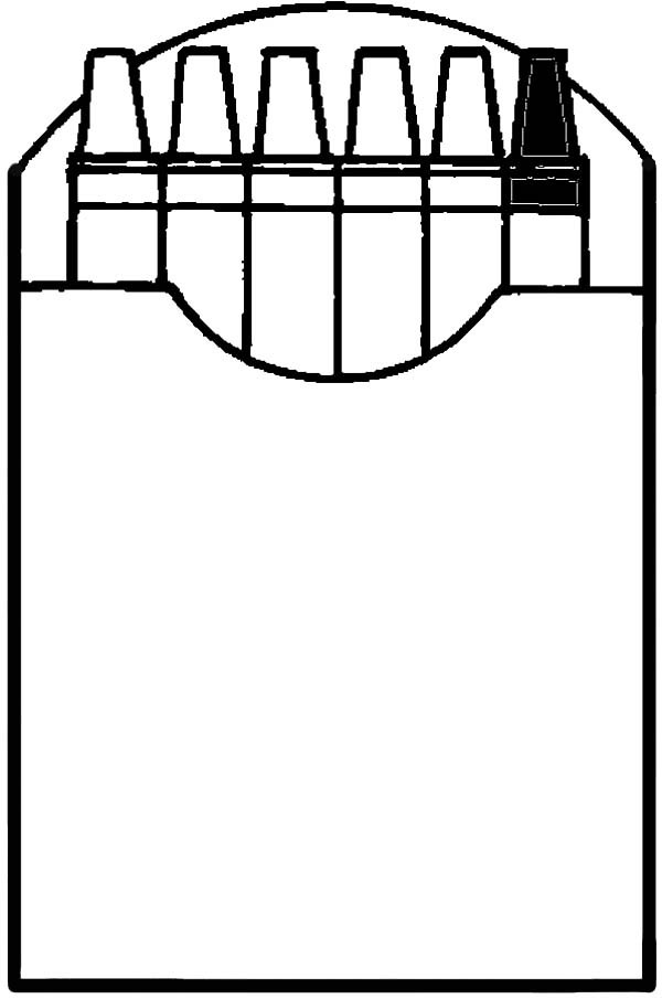 Crayon Box Coloring Page   Free download on ClipArtMag