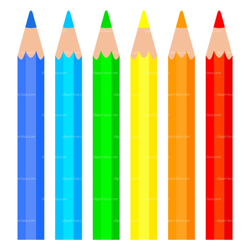 800x800 Crayon clipart colour pencil