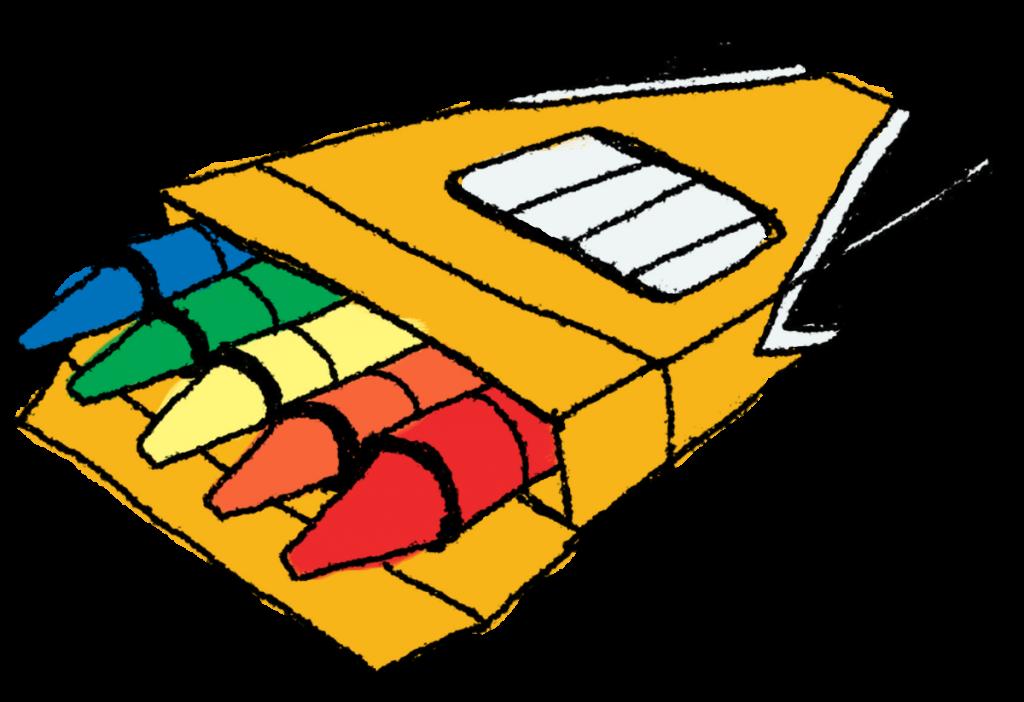 1024x702 Clip Art Crayons