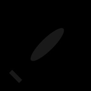 300x300 Totetude Black Crayon Clip Art