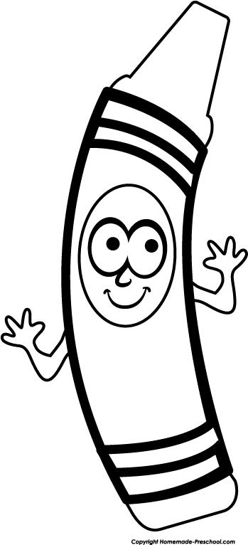 349x766 Crayon Clipart Cartoon