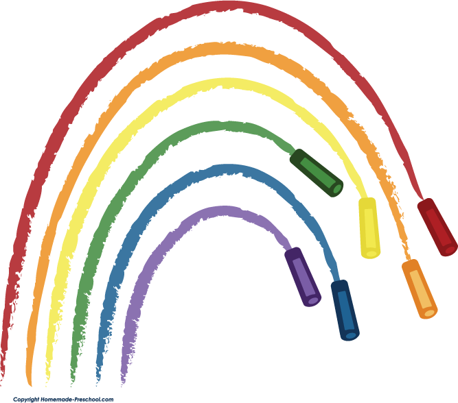667x588 Rainbow Clipart For Kids Free Images 5