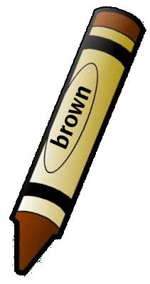 211x400 Crayon Clipart Brown Crayon