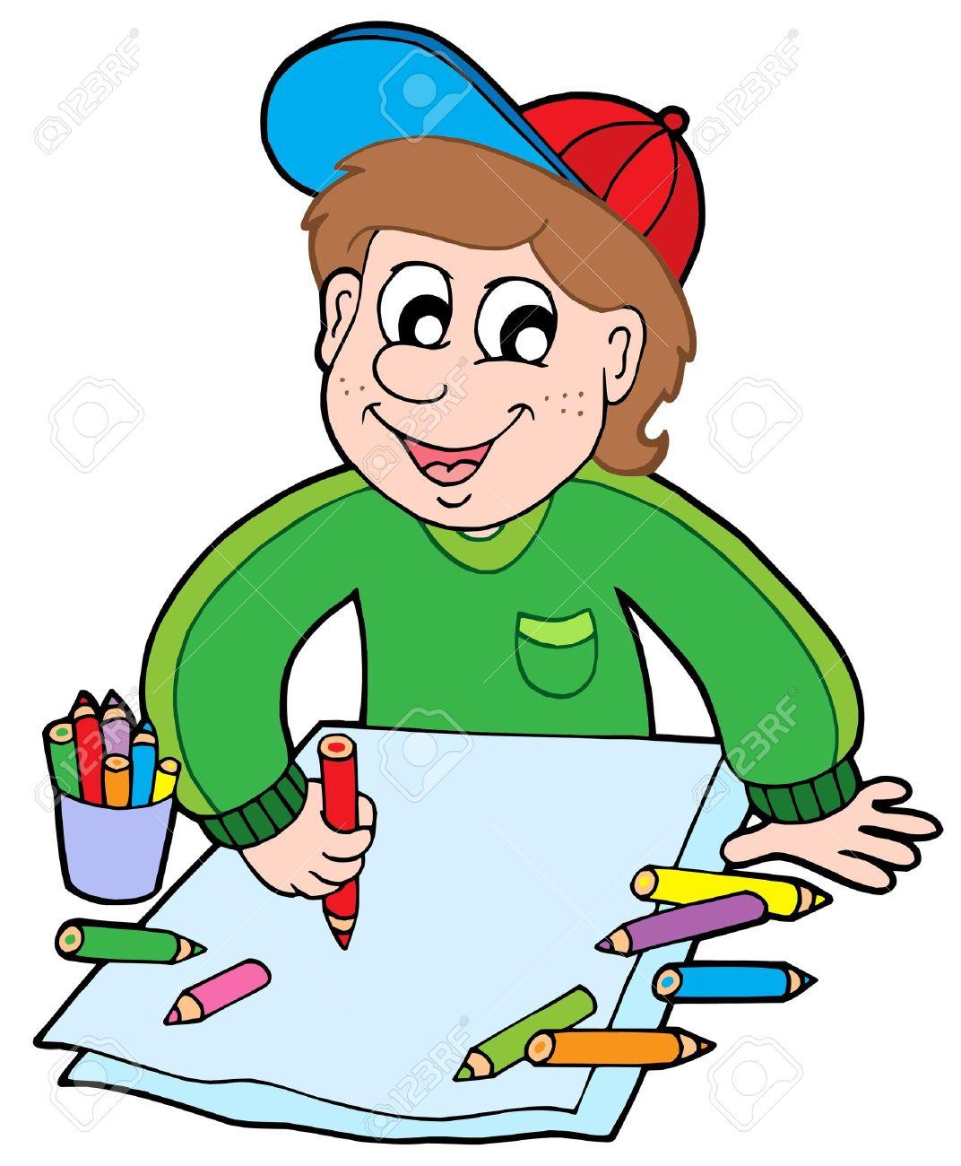 1072x1300 Crayon Clipart Person
