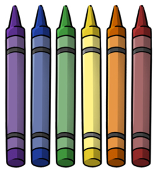 315x350 Free Crayon Clip Art By Digital Clipart Tpt
