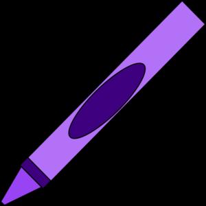 300x300 Purple Crayon Clip Art