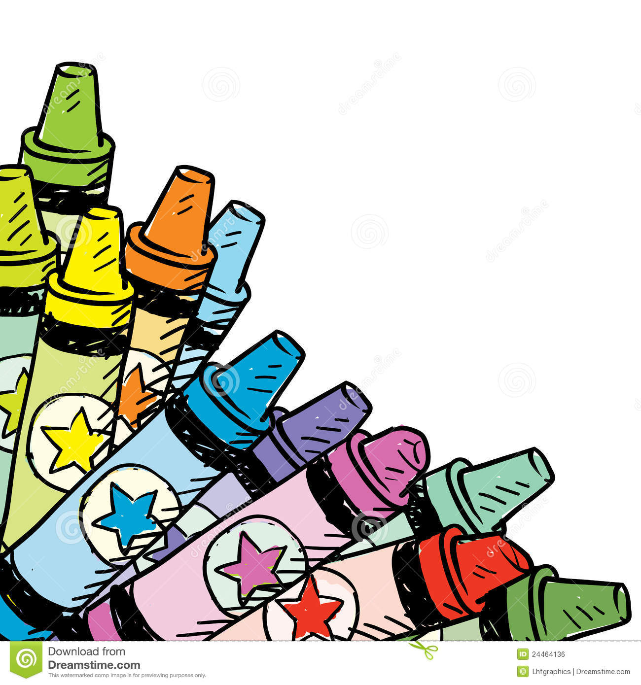 1300x1390 Crayon Border Clipart