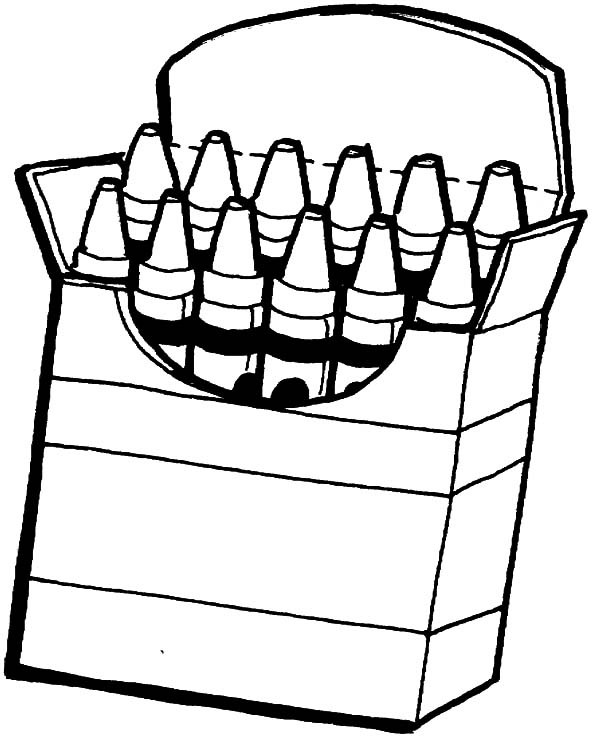 mailbox coloring pages for kids | Crayon Coloring Page | Free download on ClipArtMag