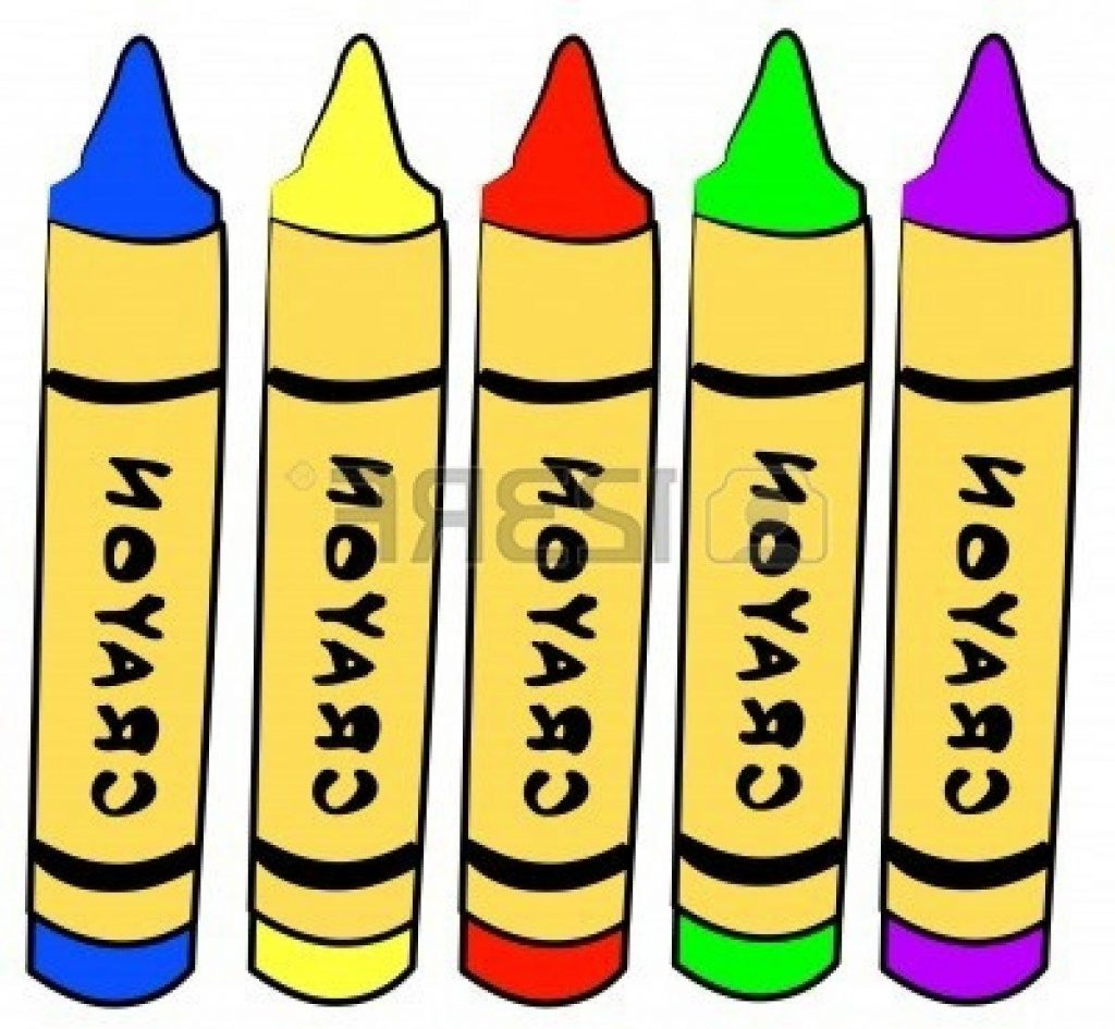 1024x945 Best Hd Orange Crayon Clipart Five Different Color Crayons