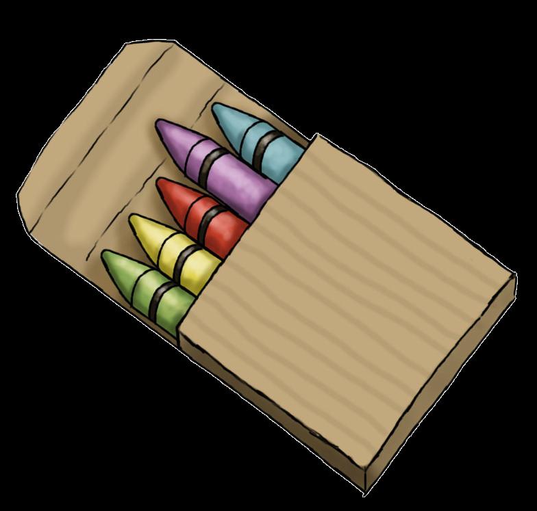 784x747 Cute Crayons Clip Art Clipart