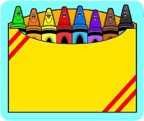 478x400 Crayon Clipart Four