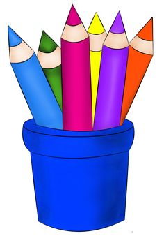 236x348 Crayon Clipart Office Stationery