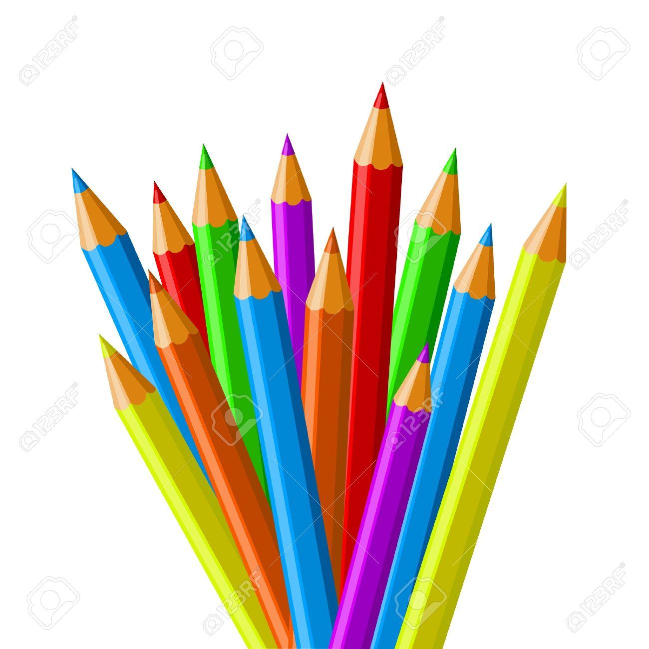 1300x1300 Crayon Clipart Pecil