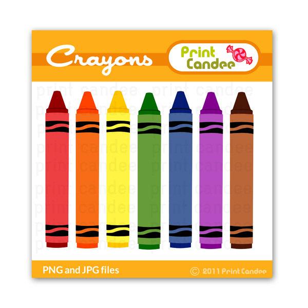 600x600 Crayon Clipart Seven