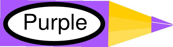 600x164 Purple Crayon Clipart
