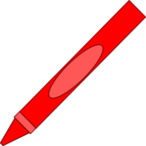 300x300 Totetude Red Crayon Clip Art