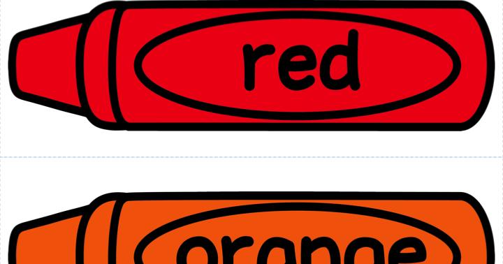 720x378 Color Crayon Clipart
