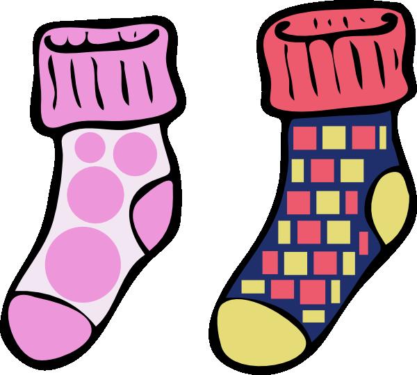 600x539 Socks8 Clip Art