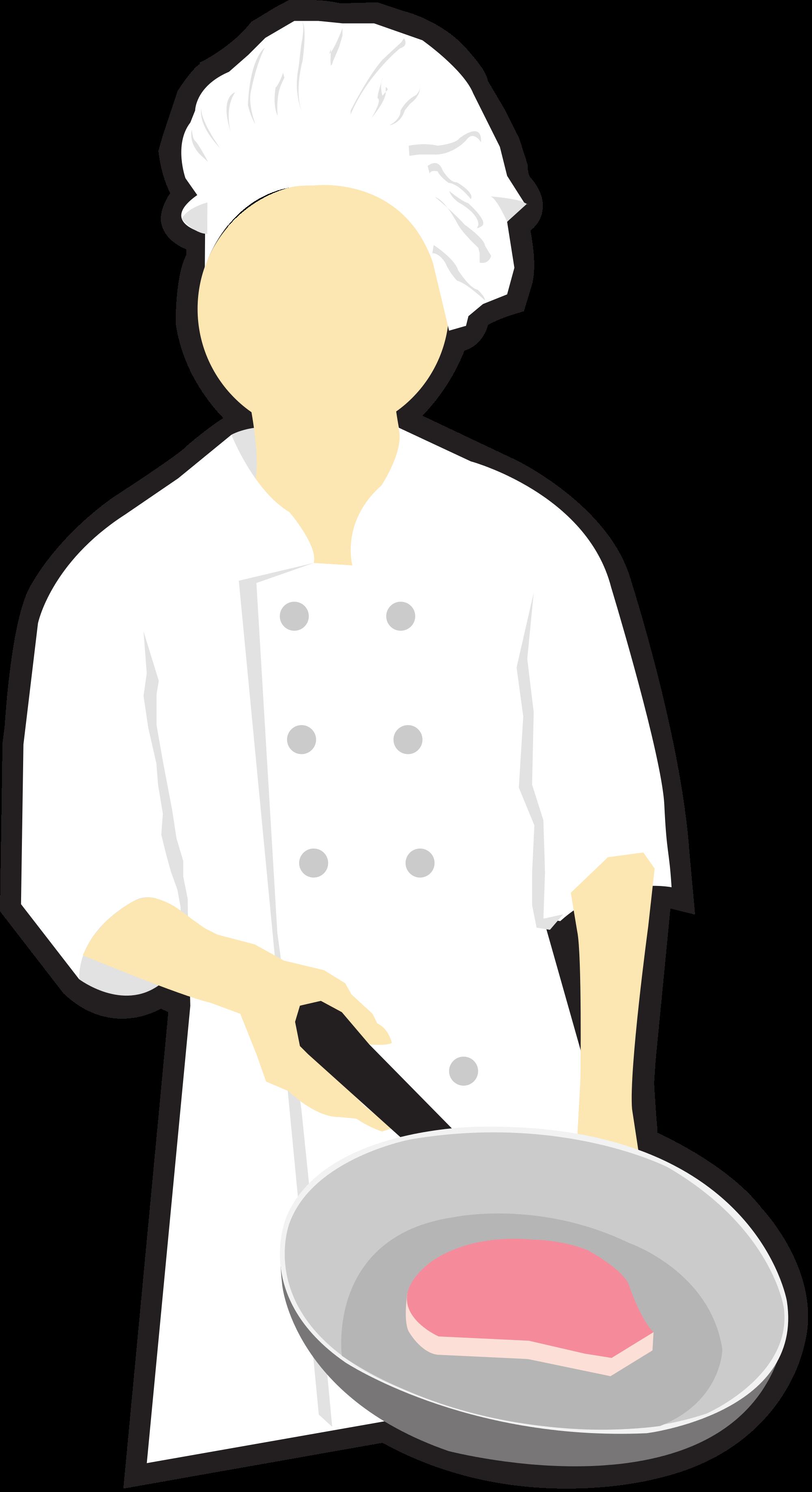 2000x3673 Filechef Cooking Clip Art.svg