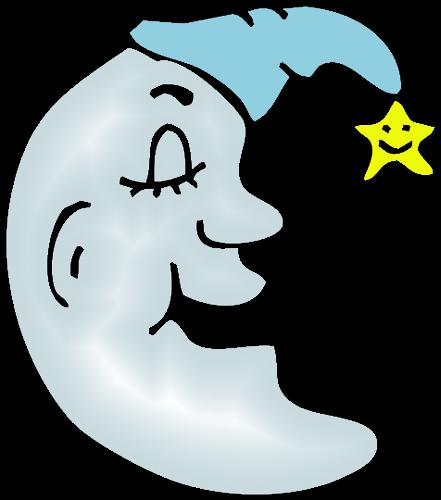 441x500 Free To Use Amp Public Domain Moon Clip Art