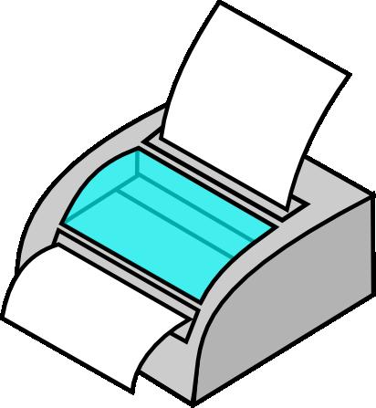 412x447 Free To Use Amp Public Domain Printer Clip Art