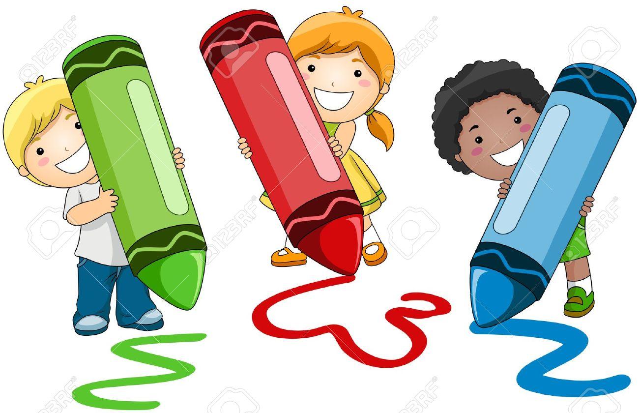 1300x840 Kids Writing Clip Art 101 Clip Art