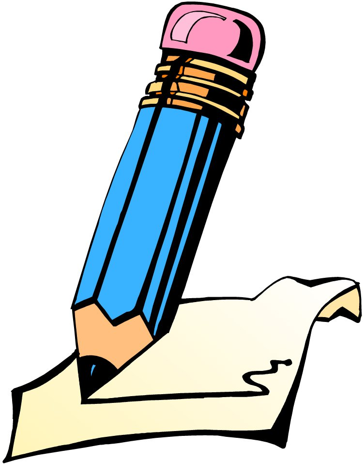 750x957 Writing Clip Art Animated Free Clipart Images 2