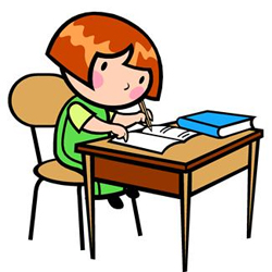 250x250 Desk Clipart Creative Writing