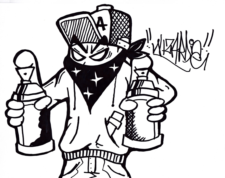 3000x2363 Graffiti Characters Creator Graffiti Characters Gangster Free