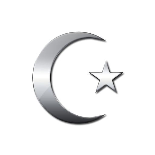 Black Crescent Moon Shape