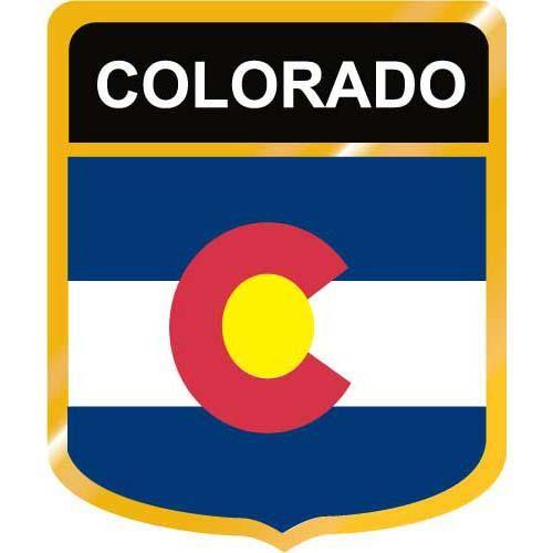 500x500 Colorado Flag Crest Clip Art