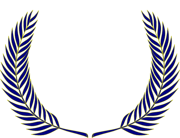 600x460 Crest Leaves Clip Art
