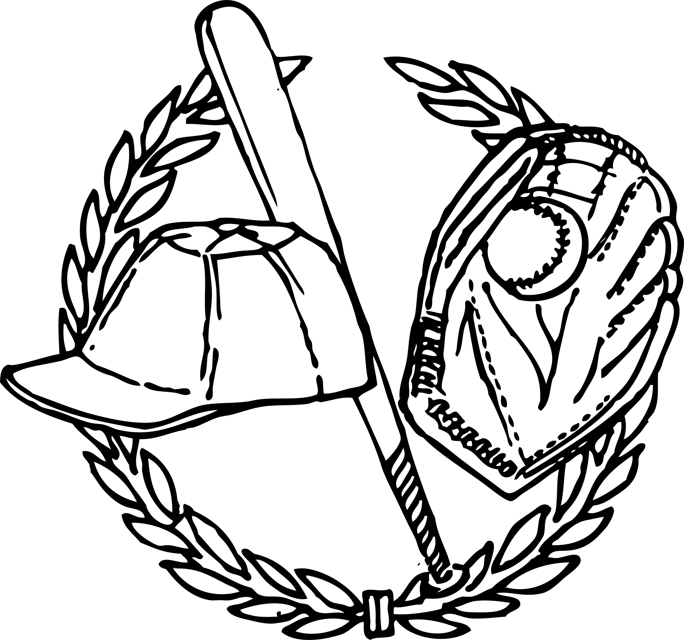 2400x2246 Academic Crest Clip Art Cliparts