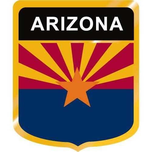 500x500 arizona flag crest clip art on Crest Clipart