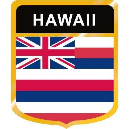 500x500 Hawaii Flag Crest Clip Art On Crest Clipart