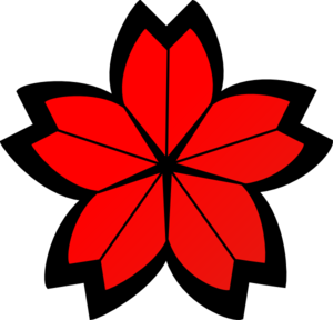 300x288 Cherry Blossom Crest Clip Art Clipart Panda
