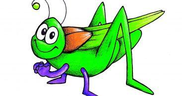367x195 Cricket Bug Clip Art » Free Vector Art, Images, Graphics amp Clipart