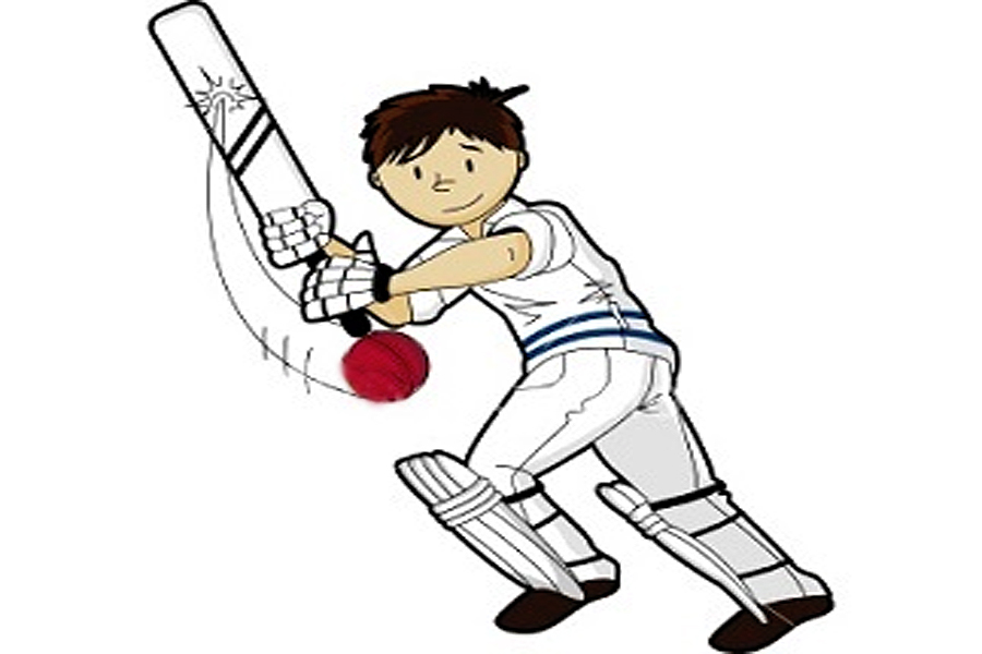 900x600 Cricket clipart child play