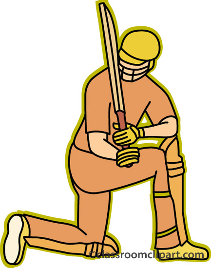 433x550 Cricket clipart cricket player with bat ball