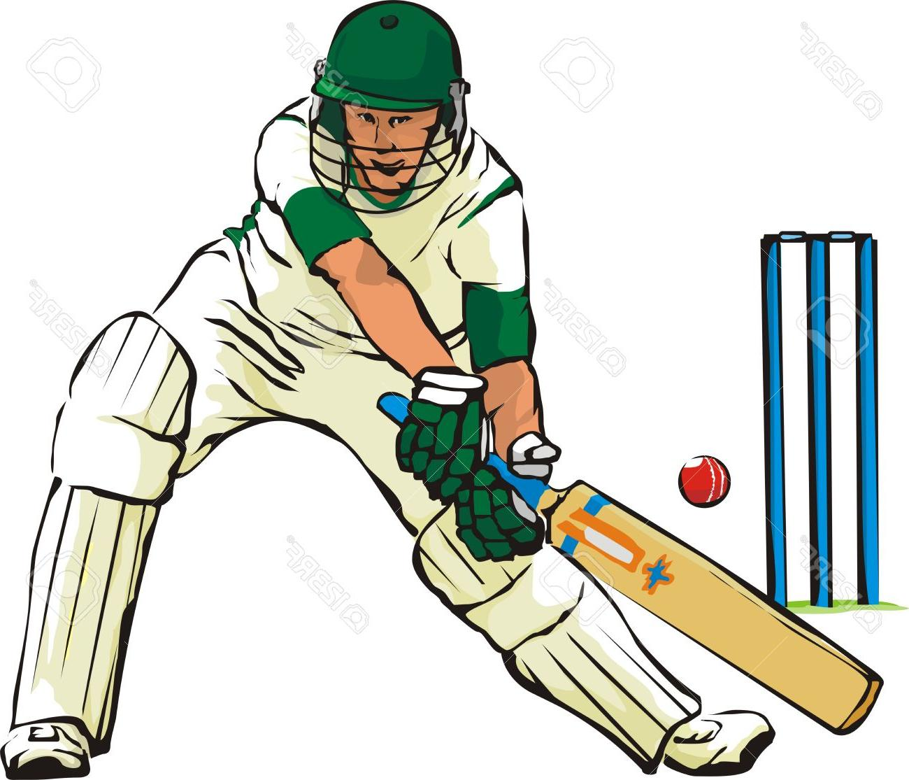 1300x1115 Best Playing Cricket Clip Art Cdr » Free Vector Art, Images