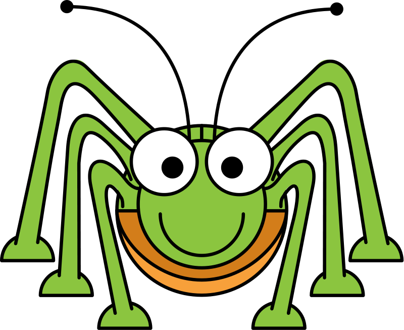 800x653 Cricket Clipart Cartoon